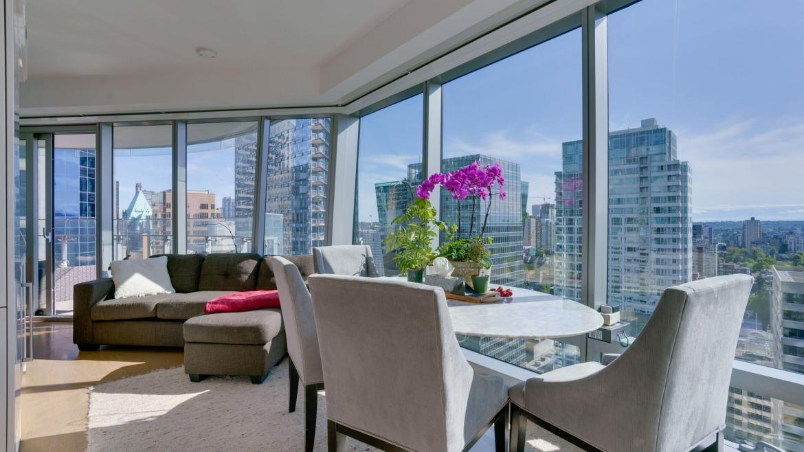 2802 - 1151 W Georgia Street, Coal Harbour, Vancouver West